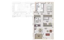 Wohnungsschnitt (Beispiel)